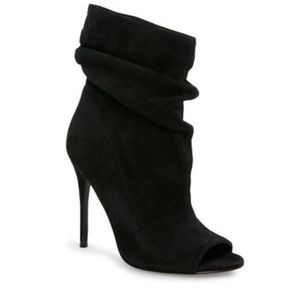 Steve Madden Black Surrender Booties